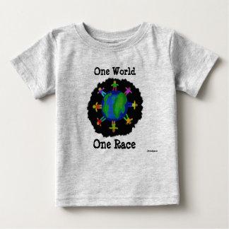 1つの世界、1の競争のワイシャツ ベビーTシャツ