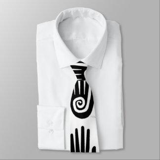 1つの手 ネクタイ