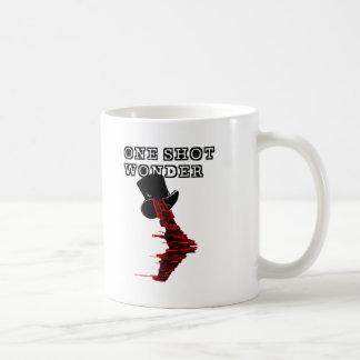 1つの打撃の驚異 コーヒーマグカップ
