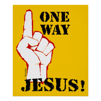 1つの方法: イエス・キリスト! ポスター