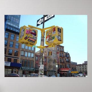 1つの方法NYC ポスター