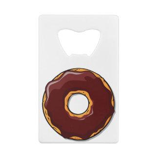 1つの漫画チョコレートドーナツデザイン ウォレット 栓抜き