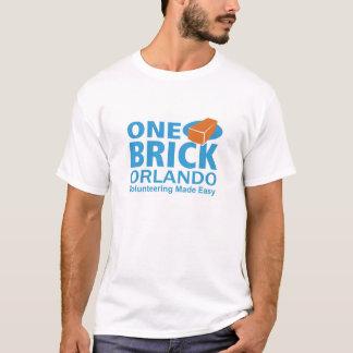 1つの煉瓦章のティー-オーランド Tシャツ