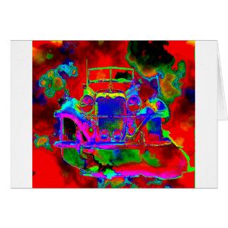 1つの熱いメルセデス カード