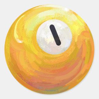 1つの球 ラウンドシール