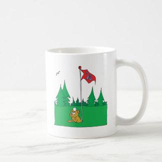 1つの穴 コーヒーマグカップ