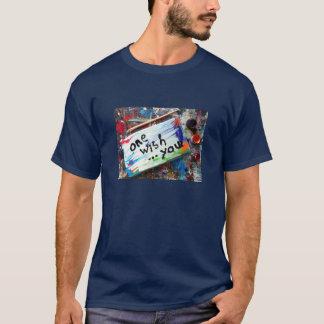 1つの願い Tシャツ