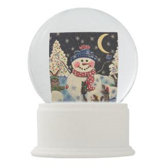 1つの魔法夜雪の地球 スノーグローブ