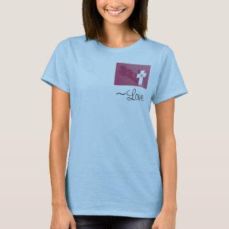1つのCorinthians 13の~Love Tシャツ