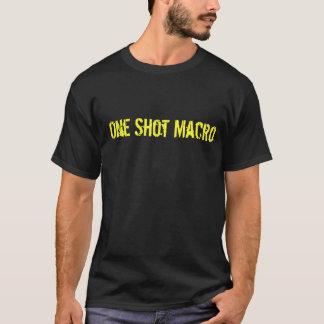 1つはマクロを撃ちました Tシャツ