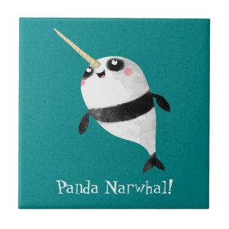 1のNarwhalそしてパンダ タイル