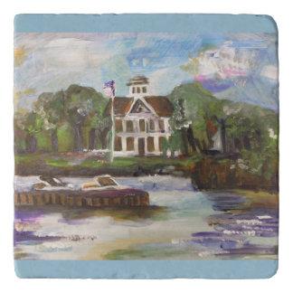 #1を絵を描くKelleysの島 トリベット