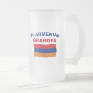 #1アルメニア人の祖父 フロストグラスビールジョッキ