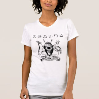 #1ウガンダの袖なしのTシャツ Tシャツ