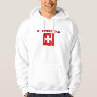 #1スイス人のパパ パーカ