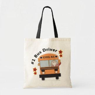 #1スクールバスの運転者 トートバッグ
