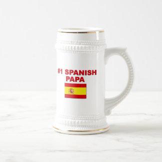 #1スペイン人のパパ ビールジョッキ