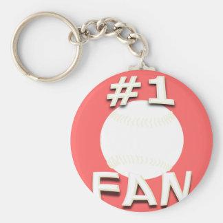#1ソフトボールファンKeychain キーホルダー