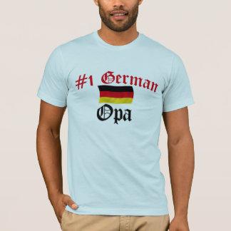 #1ドイツ語Opa Tシャツ