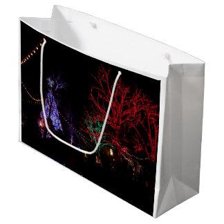 1ドル銀貨都市のクリスマス ラージペーパーバッグ