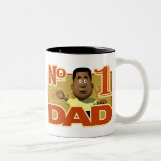 #1パパ ツートーンマグカップ