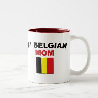 #1ベルギー人のお母さん ツートーンマグカップ