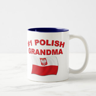 #1ポーランドの祖母 ツートーンマグカップ