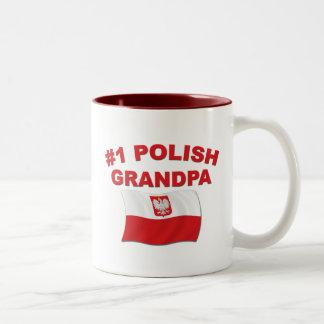 #1ポーランドの祖父 ツートーンマグカップ