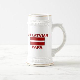 #1ラトビア人のパパ ビールジョッキ