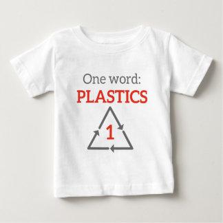 1ワード: プラスチック ベビーTシャツ