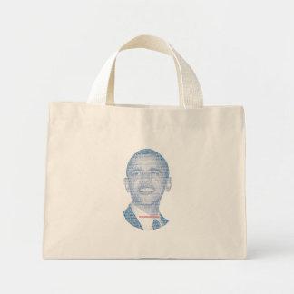1人のはっきりしたなアメリカ人は違いを生じます ミニトートバッグ