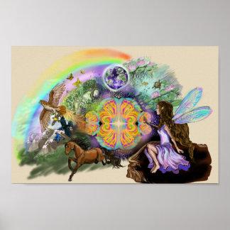 1人の妖精である世界 ポスター