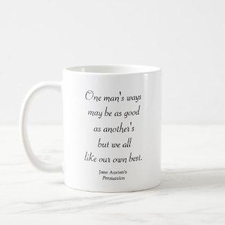 1人の方法 コーヒーマグカップ