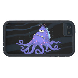 1人の注目されたタコの海の創造物堅いXtreme iPhone SE/5/5s ケース