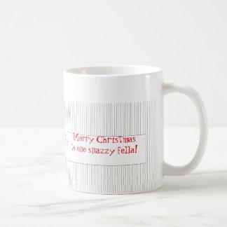 1人の粋な農夫のためのクリスマスのマグ コーヒーマグカップ