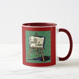 #1先生のイーゼル マグカップ