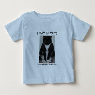 1匹の堅い猫! シリーズ ベビーTシャツ