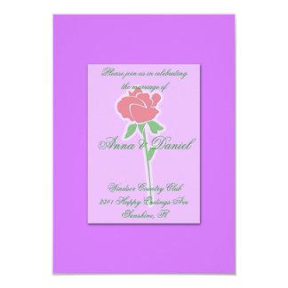 1匹の赤いバラ カード