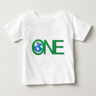 1地球 ベビーTシャツ