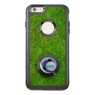 1基のゴルフ・ボールのモノグラムのiPhone 6sのゴルフをすることの穴 オッターボックスiPhone 6/6s Plusケース