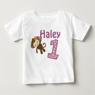 1年の古い誕生日のTシャツのCJ蘭style#3 ベビーTシャツ
