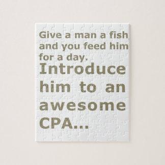 1日または素晴らしいCPAのための魚 ジグソーパズル