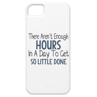 1日-おもしろいな引用文に十分な時間がありません iPhone SE/5/5s ケース