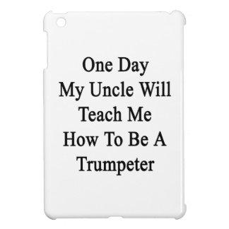 1日Teach Me Howトランペットがある私の叔父さん iPad Miniカバー