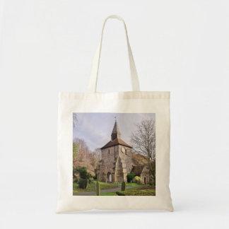 1月のSt Stephens教会 トートバッグ