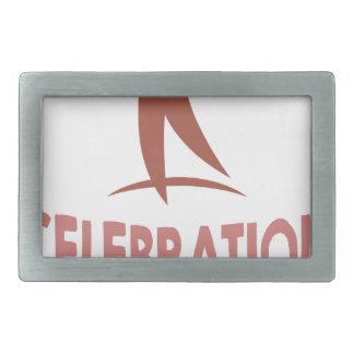 1月22日-生命日のお祝い 長方形ベルトバックル