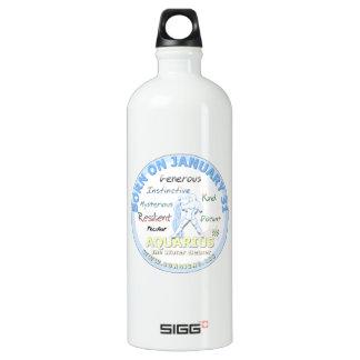 1月31日の誕生日-アクエリアス ウォーターボトル