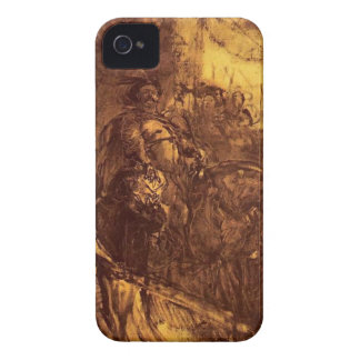 1月Matejko著ウィーンの1月III日 Case-Mate iPhone 4 ケース