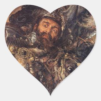 1月Matejko著Grunwald (詳細)の戦い ハートシール