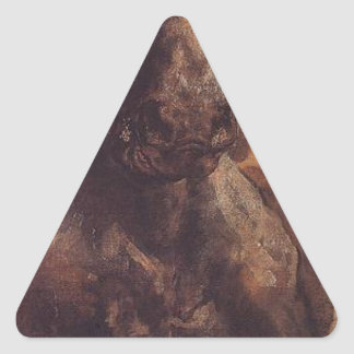 1月Matejko著Grunwald (詳細)の戦い 三角形シール